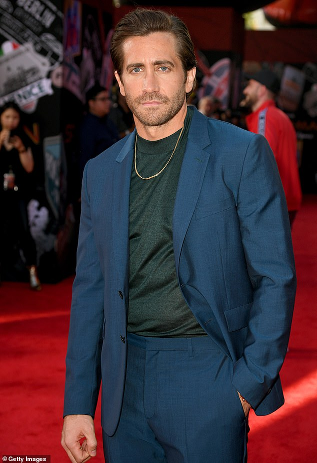 Leading man: Jake Gyllenhaal has been tapped to lead the upcoming film; he is seen at the Hollywood premiere of Spider-Man: Far From Home in 2019