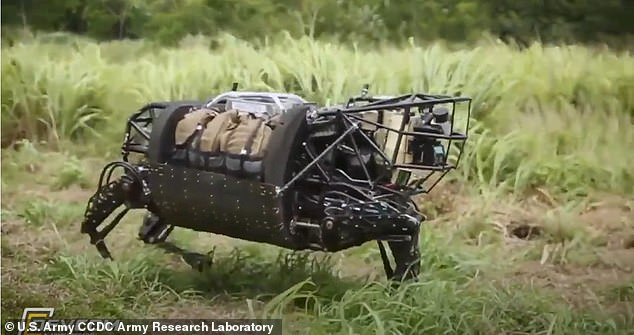 The project aims to give robots., likethe U.S. Marine Corps' Legged Squad Support System, or LS3, the same agility and precision that muscles offer biological systems, allowing these futuristic machines to venture into spaces too risky for human soldiers