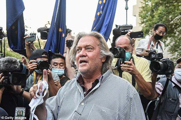 Bannon was in August pulled from a luxury yacht and arrested on allegations that he and three associates ripped off donors trying to fund a southern border wall