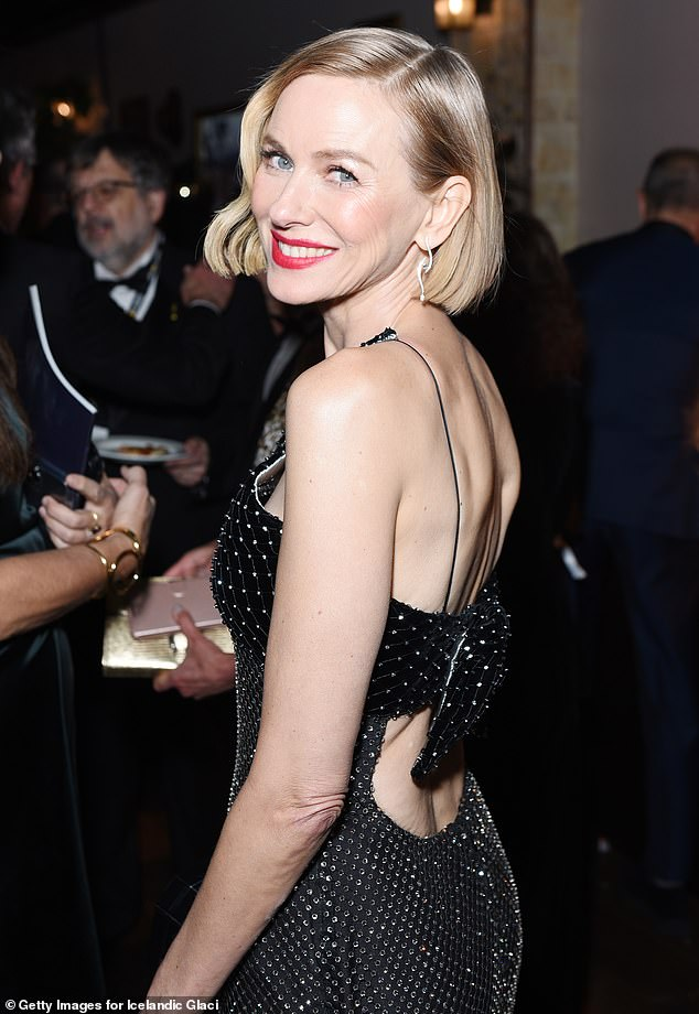 'Oh God, please, just let the earth just swallow me up': Naomi Watts (pictured) has revealed she once sent a director to sleep during a disastrous audition