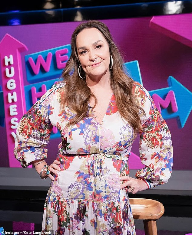 Not you too! Comedian and radio personality Kate Langbroek, 55, (pictured) is the latest Australian celebrity to fall prey to Melbourne-based 'snark' account Celeb Spellcheck