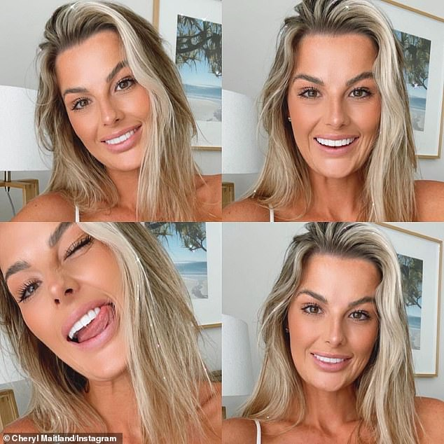 MAFS' Cheryl Maitland shows off her teeth transformation after getting veneers fitted