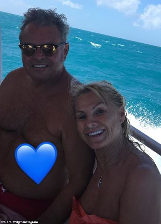 Health battle:The former TOWIE stars' parents announced on New Year's Eve they had been struck down by coronavirus but Mark. Snr has since returned home