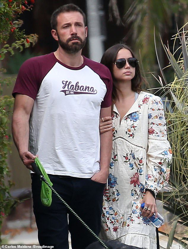 Focused on himself and family: Since their split, the father of three has been spending time with his children 'a lot' and 'continues to work on himself,' the source said; Ben and Ana seen on June 30, 2020 in Venice Beach, CA