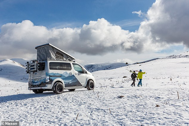 With a range of just 124 miles, campervan enthusiasts will argue that electric powertrains need to come on leaps and bounds before they can be used in these types of vehicles
