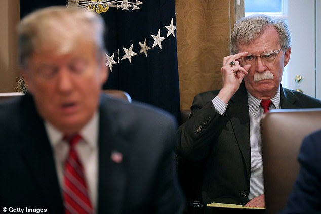 John Bolton, Trump's former National Security Advisor, was another of the 28 individuals