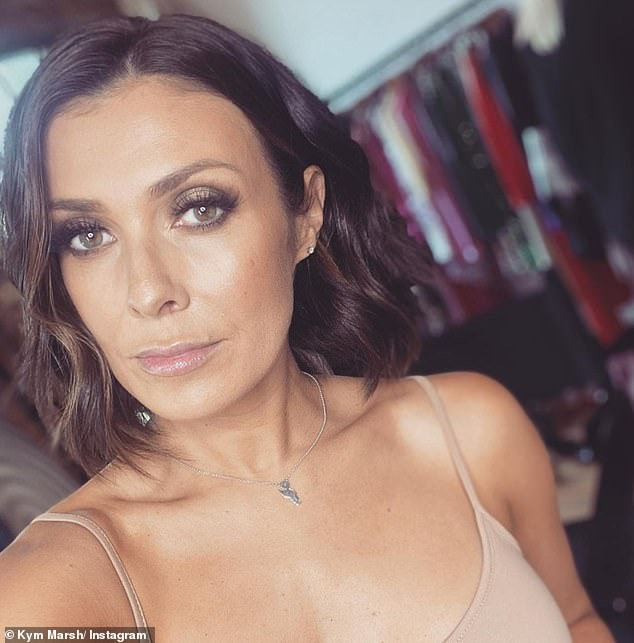 Future plans:Kym Marsh has admitted she won't be away from the Corrie cobbles forever after quitting the ITV soap in October 2019 to pursue other ventures