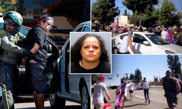 BLM activist who plowed car into Trump supporters hit with new charges