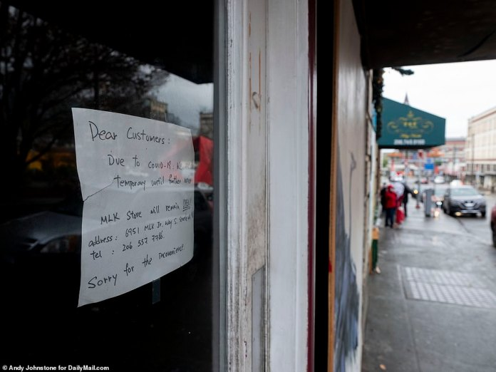 SEATTLE: A store in Chinatown announces that it will be remaining closed due to the pandemic