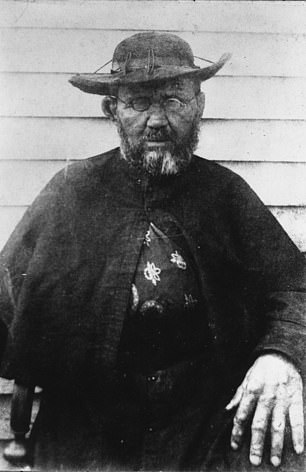 Father Damian - or Saint Damian of Molokai, a Catholic clergyman, settled there in 1873.  He cared for the enclaves for 11 years, helping them heal their illnesses, building coffins, digging graves, and dining with them, before catching the disease.