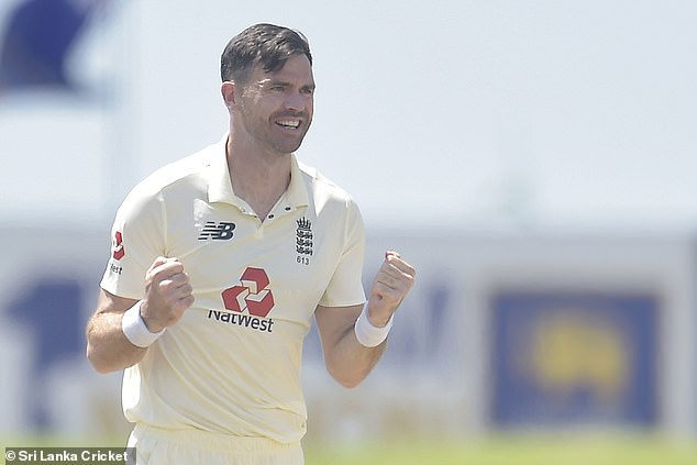James Anderson impressed with two early wickets on day one of the second Sri Lanka Test
