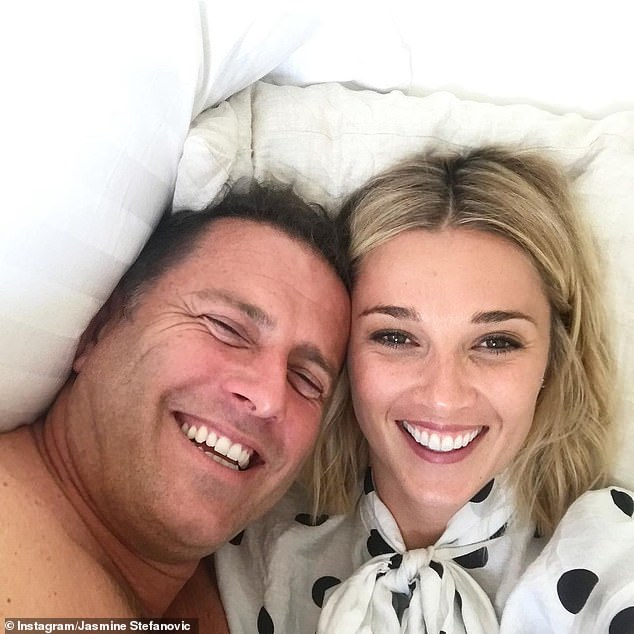 Fake news!  It comes after Karl laughed at claims he and his wife Jasmine broke up last week.