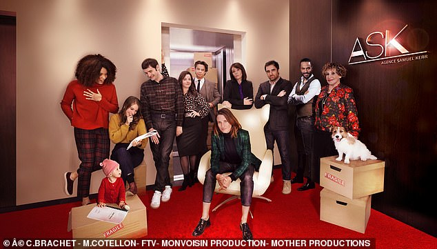 Star-studded comedy:Like Extras and Entourage, French comedy Call My Agent! is a skewering of the acting profession and attracts plenty of big name guest stars. The fourth and final series has just arrived on Netflix and has received rave reviews here and in France