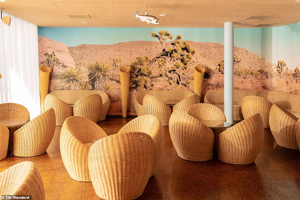 Pictured: The Cactus Lounge, one of the many places where celebs could be found over the years