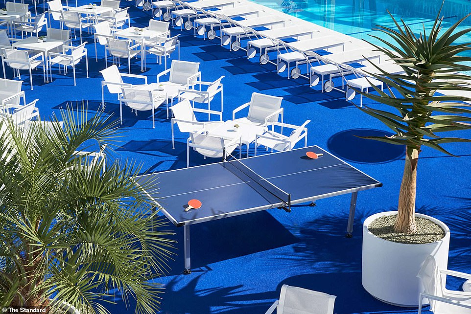 But not more!  Its pool terrace has hosted countless parties