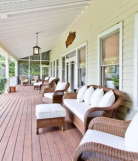 The main house boasts huge balconies and porches to rest or nap in a hammock.