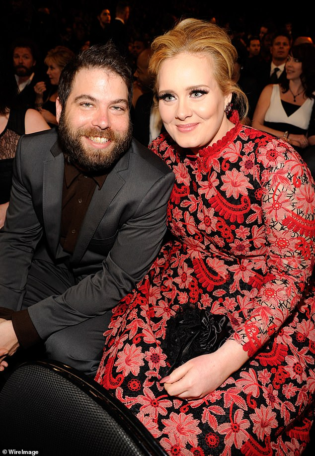 'Finalised':Adele and Simon Konecki have reportedly finalised their divorce nearly two years after their split (pictured in 2013)