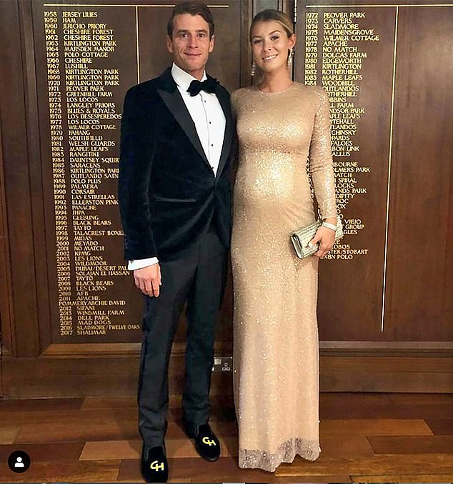 As one of the country¿s top polo players, Charlie Hanbury (pictured with his wife Yoanna) is well used to feats of daring and high-speed dashes