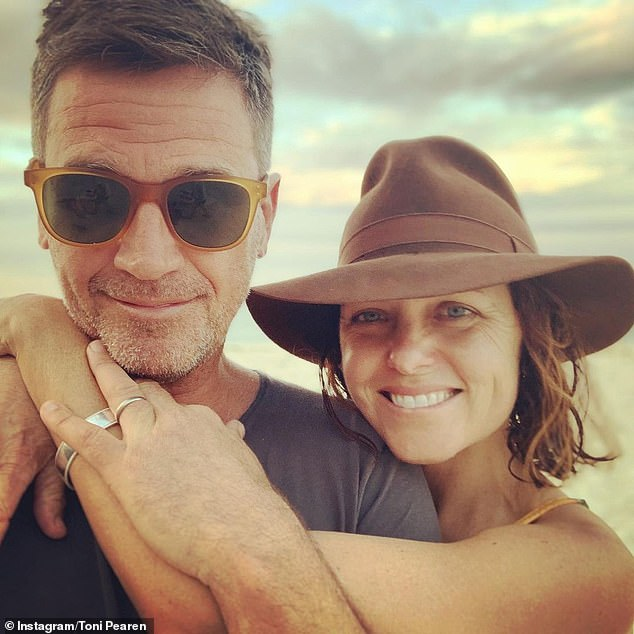 Romance: I'm A Celebrity star Toni Pearen and her husband Will Osmond revealed the bizarre way they met in the latest issue of Australian Women's Weekly