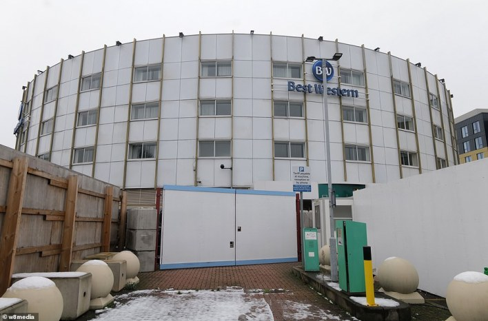 The Best Western hotel group (Heathrow branch pictured today) is said to be interested in taking part in the quarantine scheme, which involves guests changing their own sheets and towels during their ten-day stay