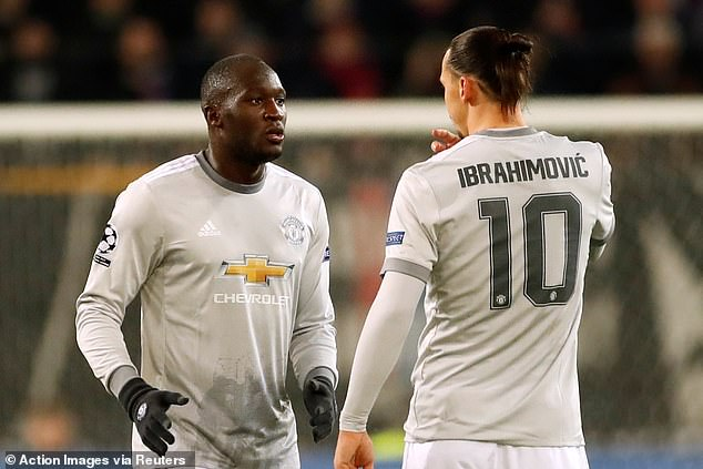 The duo were team-mates at Manchester United before they left for Inter and LA Galaxy