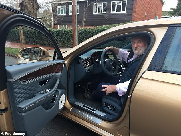 Forget keeping up with the Jones's - parking a Bentley Flying Spur on your driveway will have you overtaking your next-door neighbours in no time, as Ray found out