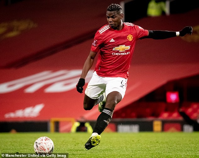 Pogba has been in inspired form since the news broke, helping United move up the table