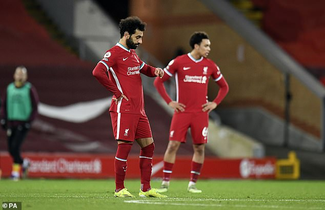 The Reds have been on a dire run of form ahead of Thursday's clash with Tottenham