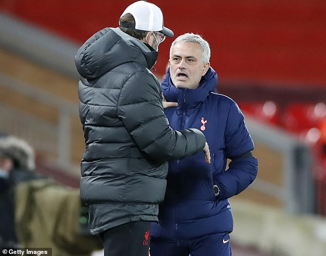 The Tottenham boss told Jurgen Klopp 'the best team lost' after defeat at Anfield in December