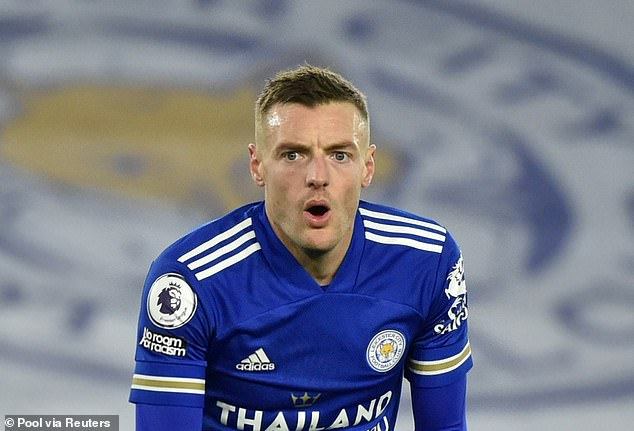 Talismanic striker Jamie Vardy has had the Midas touch in front of goal for Rodgers' outfit