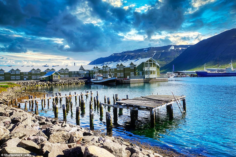 Follow the epic 828-mile ring road around Iceland on a self-drive tour. This trip includes everything from the eastern fjords to Iceland's most northerly mainland town, Siglufjordur (pictured), with glaciers and waterfalls in between
