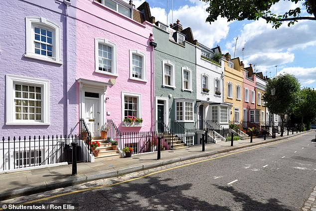 Soaring property prices have created almost 40,000 property millionaires over the past year (File image)