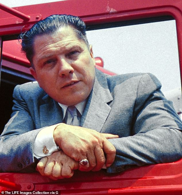 Teamsters boss James R. Hoffa vanished in 1975 after arriving at a meeting with mafia bosses a Detroit restauran
