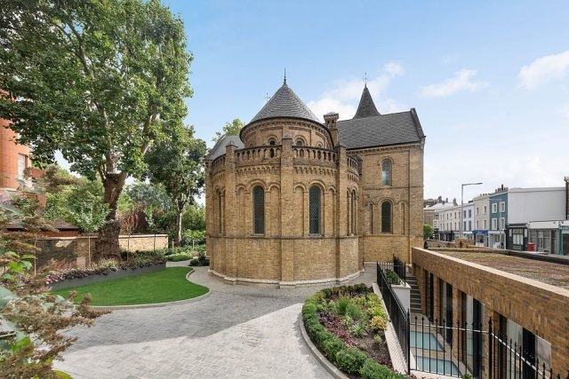 Grade II listed St Mark's chapel in in Chelsea is on the market for at least £19.5million. While it dates back to the 19th century, inside it offers a very modern interior, complete with a heated swimming pool and cinema