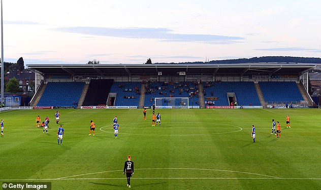 The National League side have been criticised for wheeling-out vaccines to players under-21