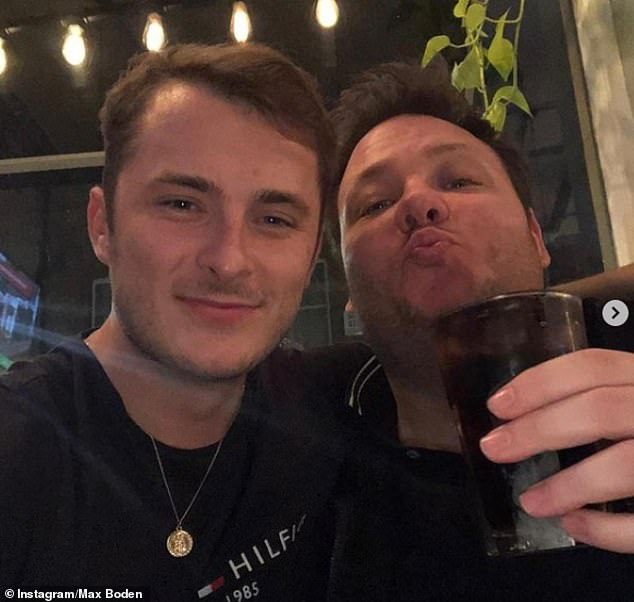 EastEnders star and close friend Max Bowen announced Terry's death on Instagram today, saying: 'I will love you until my last breath'