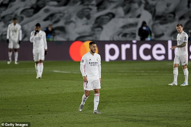 Hazard's Madrid career has been a lonely existence, with one injury after another piling up