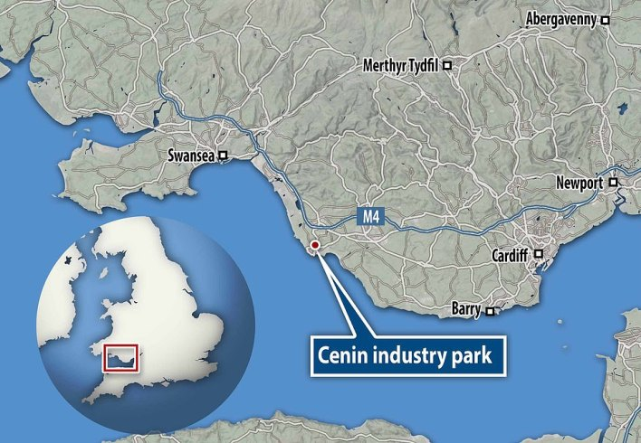 The house is located at the Cenin 'energy cluster' industry park in South Wales and is used as a test facility as well as being fully occupied as an office and meeting space