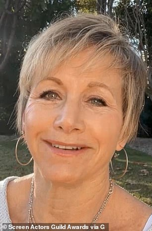 SAG President Gabrielle Carteris said 'Trump attacked the values that this union holds most sacred ¿ democracy, truth, respect for our fellow Americans of all races and faiths, and the sanctity of the free press'