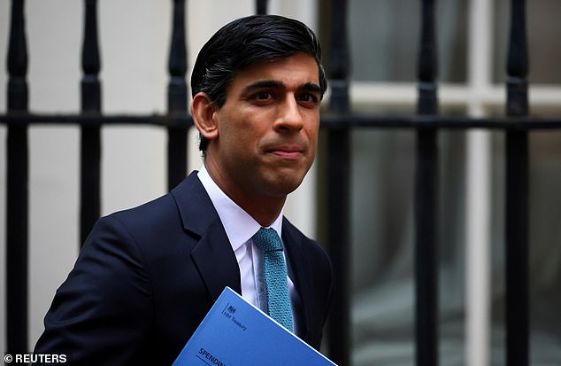 The Prime Minister and Chancellor Rishi Sunak (pictured) had asked Whitehall departments to come up with a ¿price¿ for carbon emissions for all sectors of the economy