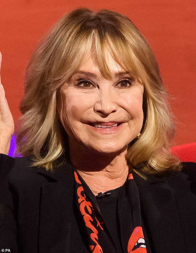 Botox fan: Felicity Kendal, 74, displayed her youthful visage during an appearance on Graham Norton's Show, which will air on Friday