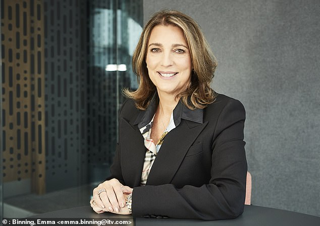 ITV chief executive Carolyn McCall has seen ITV share price fall 20% over the last 12 months