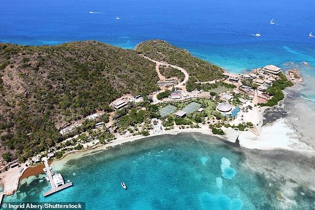 Necker Island, Sir Richard Branson's private island in the British Virgin Islands