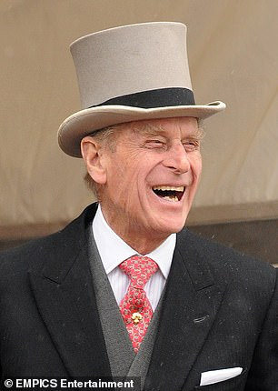 Prince Philip (pictured at the Epsom Derby in 2009) has, with characteristic self-deprecation, invented a word for his famous habit of ¿putting one¿s foot into one¿s mouth¿