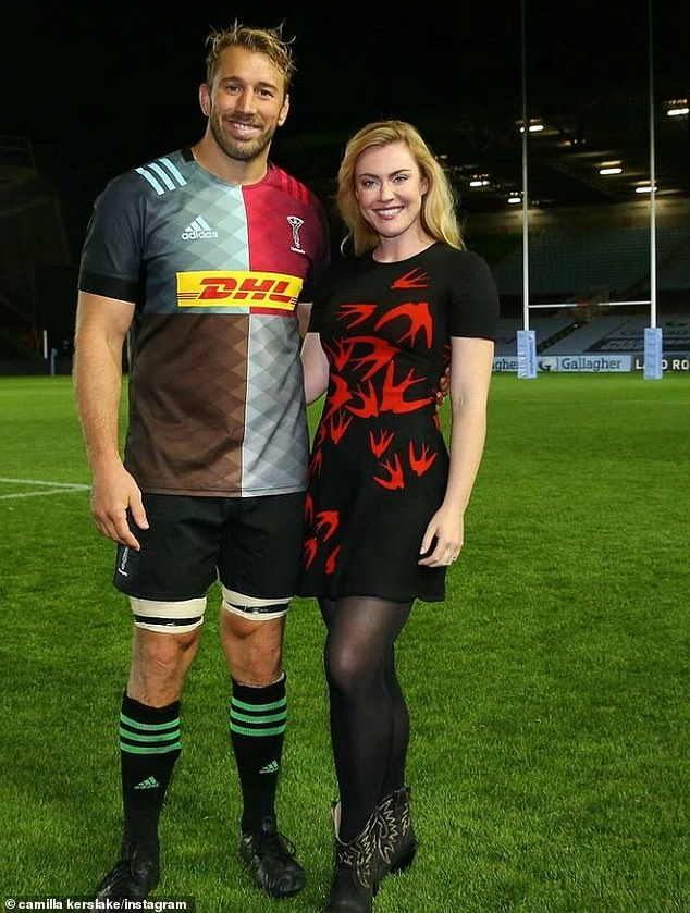 United States: Camilla joined Chris in the United States, where she signed up to play for the San Diego Legion Rugby Major League.  Due to COVID-19, they live in Las Vegas instead of California