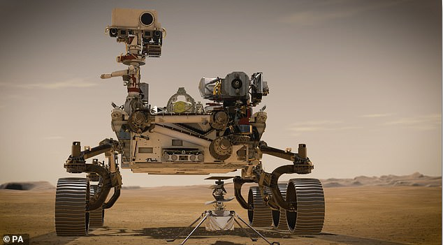 NASA's Perseverance rover is on its way to Mars - it is due to land in the Jezero crater on February 18 and will begin a mission that will see it search for signs of ancient life on the Red Planet, and gather samples of rock and soil