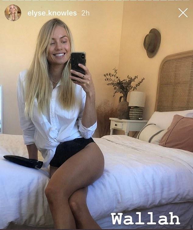 'Wallah': The account has already made headlines by sharing this screenshot of model Elyse Knowles misspelling 'here' as 'wallah'.  The gaffe went viral in December when it was picked up by American social media sensation Joshua Ostrovsky, aka The Fat Jewish.
