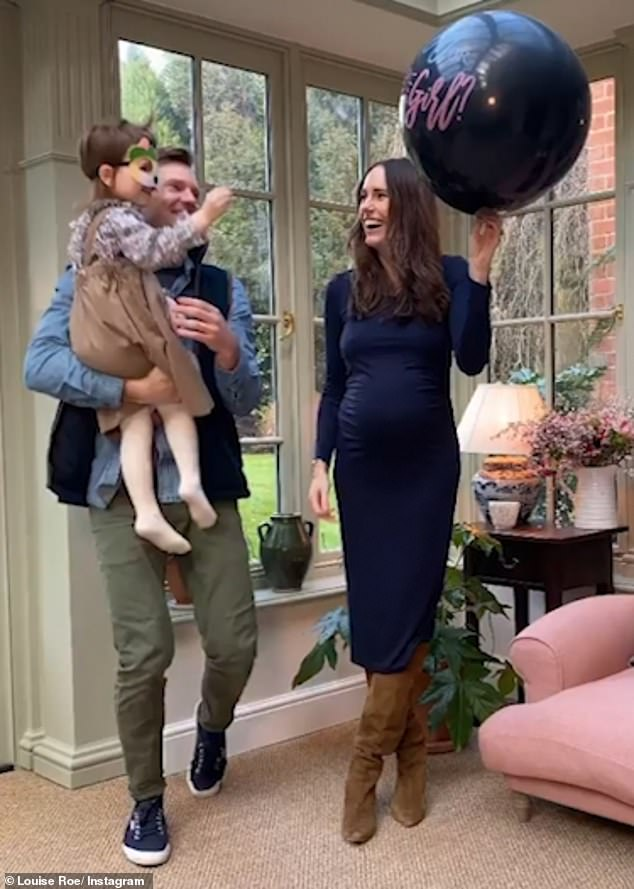 It's a girl!In February, the couple revealed they were expecting a baby girl in a heartwarming gender reveal video, which they shared to Instagram
