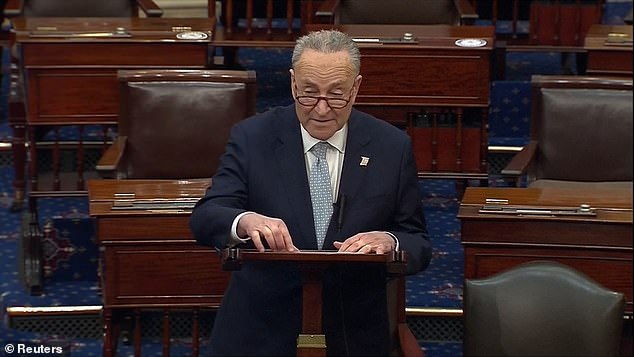 Senate Majority Leader Chuck Schumer announced the bipartisan deal on how the trial will be conducted
