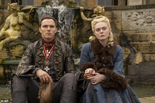 Accolades:The Great has been nominated for Golden Globes including best television series, musical or comedy, along with acting nods for both Fanning and costar Nicholas Hoult